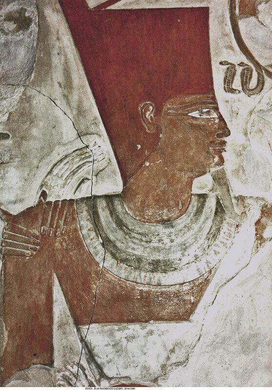 corona roja egipto