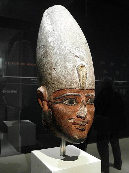 corona blanca egipto