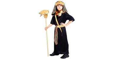 disfraces de faraon para niños
